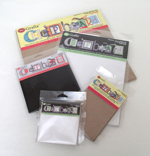 Assortment of Packaged Chipboard