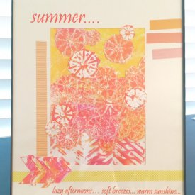 Summer Time Collage