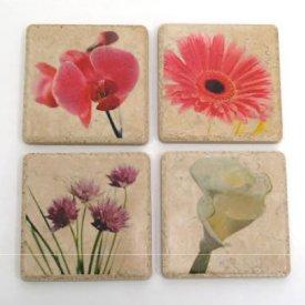 Rub-Onz Tile Coasters