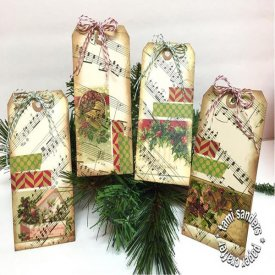 Custom Rub-Onz for Christmas Tags