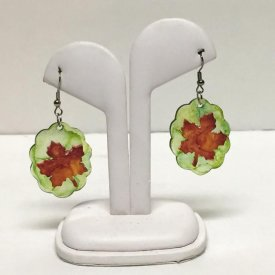 How To Create Earrings using Grafix Shrink Film