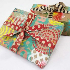 Art Foamies Wrapping Paper