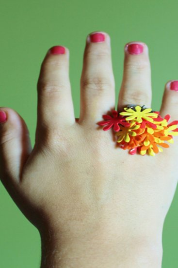 Flowerful Rings