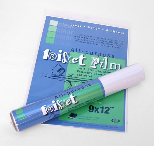 All purpose Frisket Film Clear
