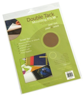 Double Tack Mounting Film Packaged