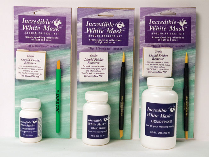 Incredible Art Products-All White Mask Kits