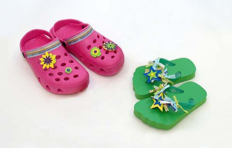 Embellished Clogs & Flip Flops