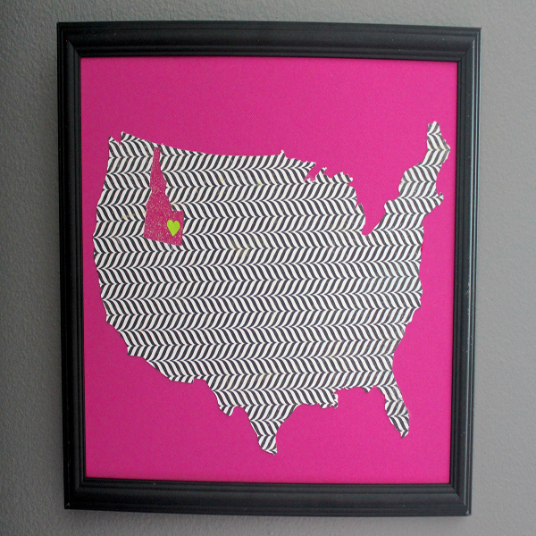 Glitter Map 1