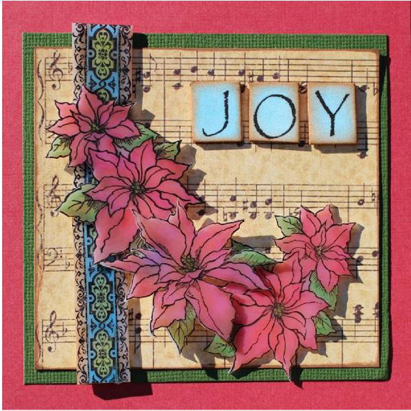 Shrink Film Joy Christmas Greetings