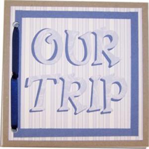 Chipboard Travel Journal