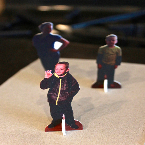 DIY Shrink Film Game Pieces Part 3