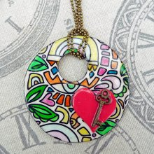 Shrink Heart Pendant