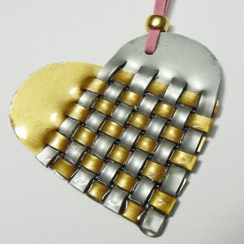Shrink Heart Charm