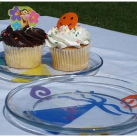 Party Plate Decorations