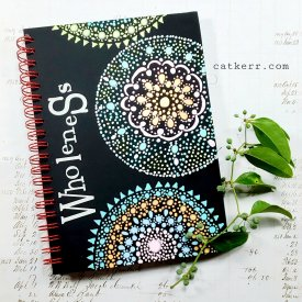 Mandala DIY Opaque Black Craft Plastic Film