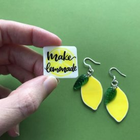 Shrinkable Lemon Charms