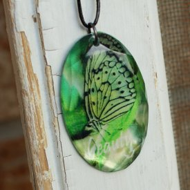 Butterfly Acrylic Pendant