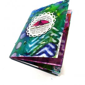 Grafix Opaque White Craft Plastic Mini Art Journal