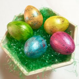 Easter Foiled Eggs
