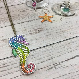 Nautical Charms made with Artist Series Shrink Film