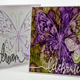 Butterfly Lift Card