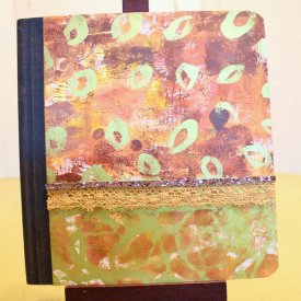 Altered Journal Made Using Grafix Monoprint Plates