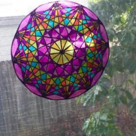 How To Create a Grafix Cling Film Sun-catcher