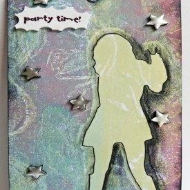 Shrunken Party Girl Tag