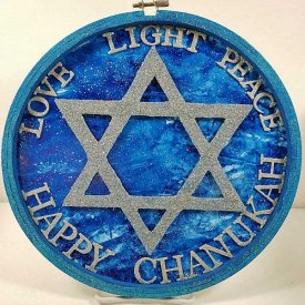 Grafix Chanukah Wall Decor