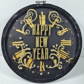 Grafix Happy New Year Wall/Table Decor